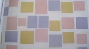 Compositie met lijnen 3 / Losangique compositie